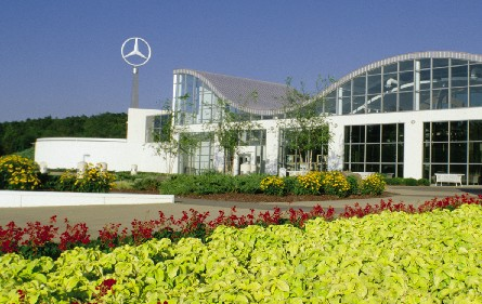 Mercedes benz training center hardy corporation for Mercedes benz training center